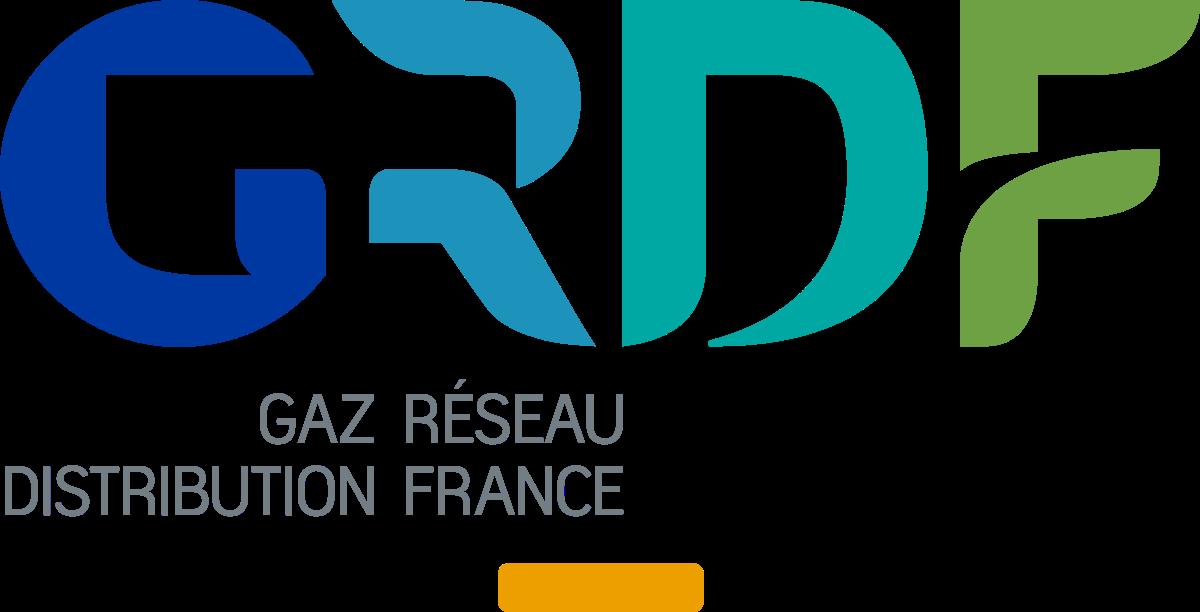 logo GRDF partenaire infraneo
