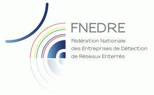Logo FNEDRE (Fédération Nationale des Entreprises de Détection de Réseaux Enterrés)