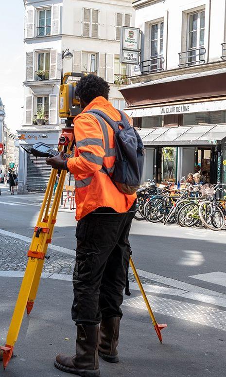 topographie dans paris