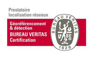 Logo BUREAU VERITAS géoréférencement & détection